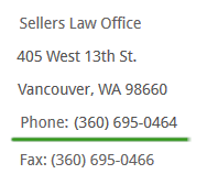 Personal Injury Lawyer Vancouver WA
